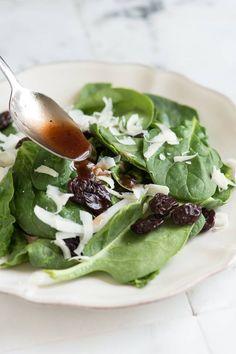 How to Make Balsamic Dressing - Essential Balsamic Vinaigrette Recipe from www.inspiredtaste.net #salad #recipe
