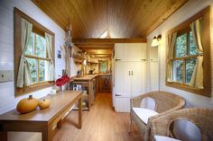 Fencl Plans | Tumbleweed Tiny House Company.... house on wheels, build it yourself instead of buying a travel trailer, very cute!