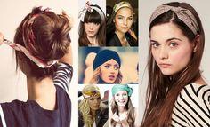 Como combinar peinados y accesorios
