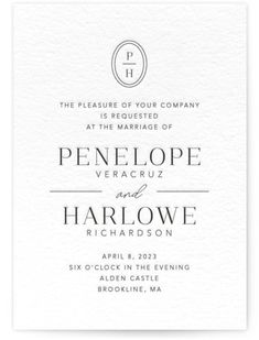 Classic And Formal, Black Wedding Invitations From Minted By Independent Artist Meagan Christensen. Letterpress Save The Dates, Letterpress Wedding Invitations, Letterpress Printing, Save The Date Wording, Unique Save The Dates, Black Wedding Invitations, Bridesmaid Cards, Reception Card, Wedding Announcements