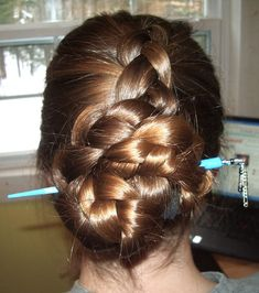 Hairstyles for Hair Sticks tutorials