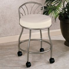 Lecia Vanity Chair For The Home Bathroom Vanity Chair