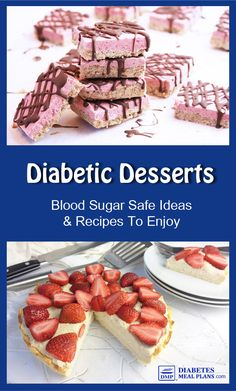 8 Attentive Tips: Diabetes Natural Remedies Blood Sugar diabetes natural remedies blood sugar.Diabetes Tips Healthy Snacks diabetes type 1 ideas.Diabetes Tips Exercise. Diabetic Desserts, Sugar Free Desserts, Healthy Snacks For Diabetics, Diabetic Recipes, Low Carb Recipes, Dessert Recipes, Pre Diabetic, Diabetic Foods, Lunch Recipes