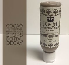 Cacao Toothpaste
