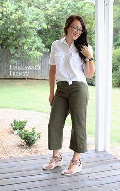 Lander Pants // Sewing For Women