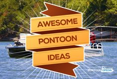 Looking for awesome pontoon boat ideas including ways you can customize and add . - Looking for awesome pontoon boat ideas including ways you can customize and add exciting accessories? See this huge list of ideas for pontoon inspiration. Pontoon Boat Seats, Pontoon Stuff, Pontoon Boating, Boating Fun, Pontoon Boat Accessories, Boating Accessories, Pontoon Party, Best Boats, Boat Stuff