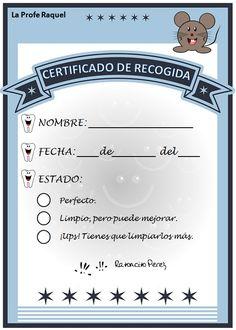maestros | Ratoncito Pérez Dental, Scrapbooking, Tooth Fairy, Free Printables, Parenting, Album, Activities, Personalized Items, School