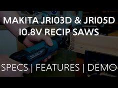 Makita JR103D & JR105D CXT Recip Saws - Spec, Features, Benefits Makita Power Tools, Reciprocating Saw, Drill, Recipes, Hole Punch, Rezepte, Drills, Food Recipes, Drill Press