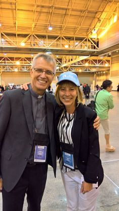 LWF General Secretary Rev. Dr Martin Junge and Evangelical Church in America (ELCA) Executive Director for Mission Advancement, Christina Jackson-Skelton at the #ELCA2016 Churchwide #Assembly. Day#259 until the Twelfth Assembly #Assembly365 #Lutheran