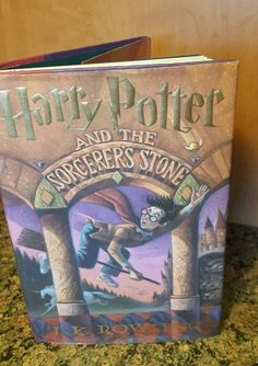 Details About Harry Potter And The Sorcerers Stone 1 By J K Rowling 1998 H