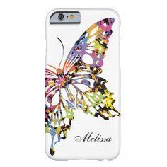 #Valentines #AdoreWe #Zazzle - #Zazzle Color Splashed Butterfly iPhone 6 case - AdoreWe.com