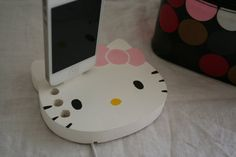 Hello Kitty iPhone/ iPod Charger White by iBigfoot on Etsy, $27.99