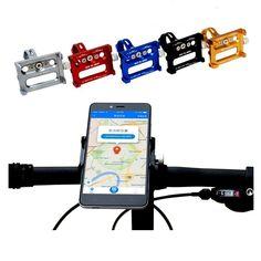 GUB G-86 CNC Bicycle Holder Handbar Clip Stand Mount Bracket for Phone GPS Device Up To 6.2 Inch Sale - Banggood Mobile