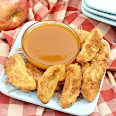 Air Fryer Apple Fries