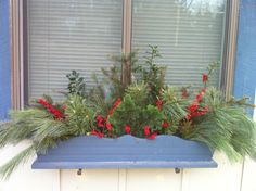 winter window box by dvautier, via Flickr