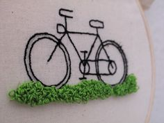 Bicicleta bordada – Jaime Vicente