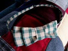 Civil War cravat tutorial.