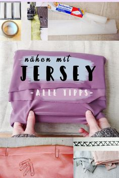 Jersey nähen Tipps: Was hilft gegen einrollende Nähte, welche Stichart und Nä… Jersey Sewing Tips: What helps against rolling seams, which stitch type and sewing machine needle use for jersey, what kinds of elastic fabrics are there? Baby Knitting Patterns, Crochet Poncho Patterns, Sewing Patterns Free, Sewing Dress, Love Sewing, Sewing Clothes, Diy Clothes, Sewing Projects For Beginners, Knitting For Beginners