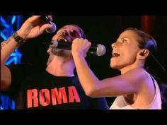 Italian music. Eros Ramazzotti performs a live concert in rome, Italy. this video shows the complete concert. i think that it is absolutely perfect!!!  bravo eros!!!  video clip courtesy of youtube.com. rock on!!!