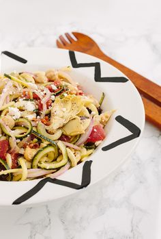 ... on Pinterest | Zucchini Pasta Salads, Zucchini Noodles and Carrot Slaw