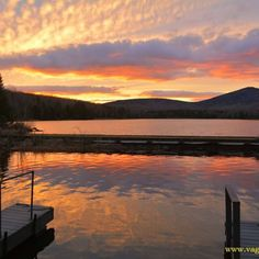 Wow! Here is one Amazing Sunset at Seyon Lodge http://vagabondway.net/amazing-sunset-at-seyon-lodge-in-vt/ #sunset #beauty #latefall #unique #reflection #amazing #getoutside #nature #stateparks #natureisawesome #gladigotup #wow