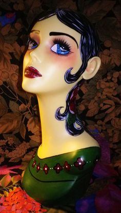 gypsy boho tarro mannequin head - Google Search