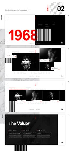 Das - Architecture (template) on Behance Site Web Design, Online Web Design, Page Layout Design, Website Design Layout, Web Design Services, Web Design Company, Website Design Inspiration, Business Presentation, Presentation Design