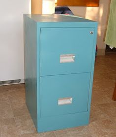 aleatha shannon: How to spray paint your filing cabinets
