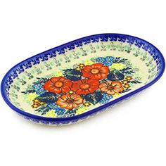 Ceramika Bona H0644F Polish Pottery Ceramic Platter Hand Painted 11Inch -- You can get more details by clicking on the image.(This is an Amazon affiliate link and I receive a commission for the sales)