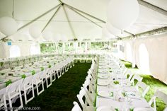 Inside of our reception tent  #weddings, #outdoor wedding, #tent, #whimsical  http://www.teardropweddings.com