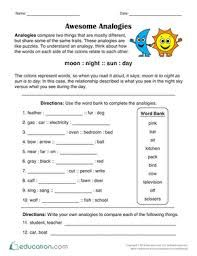 Image Result For Analogies Worksheet Education Quotes For