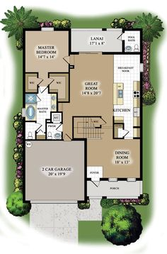 Navona floor plan