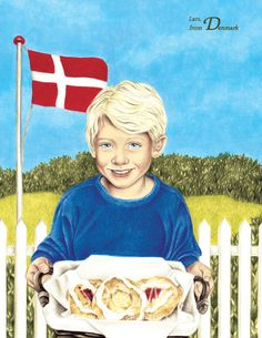 """Denmark - As featured in """"My Very Own World Adventure"""" personalized children's book by I See Me!"""