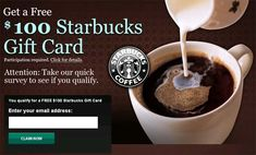 Offer for Pinners only. Get your free starbucks gift card. I love starbucks worth a try! Free Starbucks Gift Card, Restaurant Coupons, Good Food, Yummy Food, Ipad, Gift Card Giveaway, Yummy Drinks, So Little Time, Food And Drink