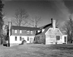 Old Mansion in Bowling Green, Caroline, County, Virginia.