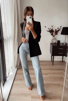 Winter Fashion, Women's Fashion, Fashion Outfits, Classy Outfits, Workwear, Blazers, Street Style, My Style, Board