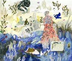Sofia Arnold's Naturalistic Scenes of Wild Fantasies