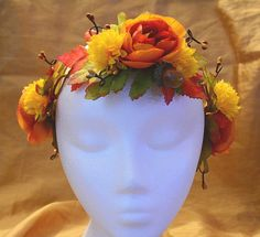 Tranquility Fall Autumn Orange and Yellow by lotusflowerdesigns