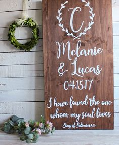 Check out this item in my Etsy shop https://www.etsy.com/ie/listing/500465995/rustic-wedding-sign-barn-wedding-decor