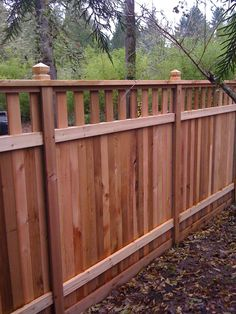 Embassy Enterprises - Gresham, OR, United States. Privacy fence Embassy Enterprises - Gresham, OR, U Backyard Fences, Garden Fencing, Backyard Landscaping, Wood Privacy Fence, Privacy Fence Designs, Fence Panels, Redwood Fence, Wood Fence Design, Front Yard Fence