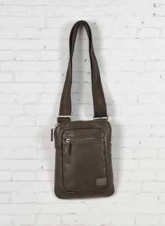 Tracolla pelle uomo Nava c/Porta iPad - Leather shoulder bag for iPad http://www.lodishop.com/negozio/pelletteria-gajardi/ #bag #tablet #ipad #lodi #italy