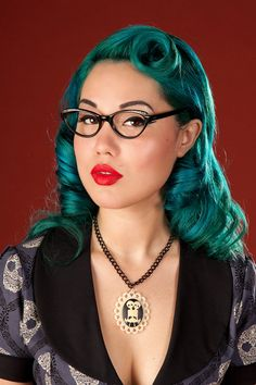 Poison Candy psychobilly sideshow necklace by PoisonCandyFashion, $34.00