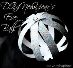 DIY New Year's Eve ball