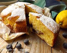 torta mirtilli carote e limone-ricetta dolce