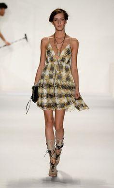 Mercedes Benz Fashion Week 2013 Rebecca Minkoff Resort Wear for Spring 2014