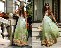 Looks con vestidos largos - Trendtation