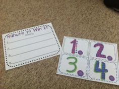 Fun spelling game--Minute to Win It...could also be math facts.
