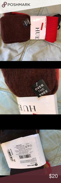 Hue over the knee socks NWT mohair Hue over the knee socks NWT mohair HUE Accessories Hosiery & Socks
