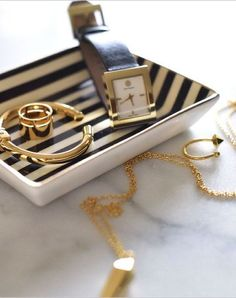 On the 9to5chic blog: The Tory Burch Buddy Classic Watch