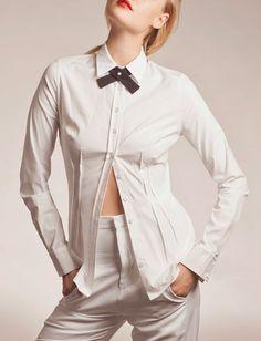 30% Sale, Black Button Down, Button Down, High Collar Blouse, High ...